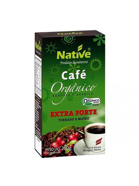 Café Orgânico Torrado e Moído Extra Forte Native – 250g