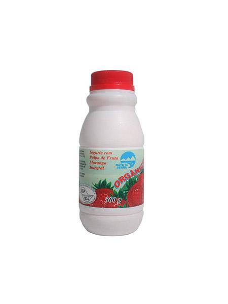 Iogurte Integral de Morango Orgânico 300g – Nata Da Serra