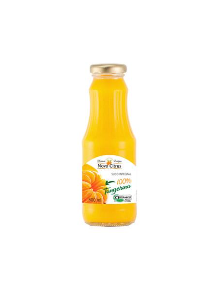 Suco de Tangerina orgânico 300ml Novo Citrus