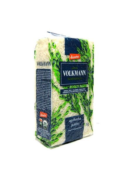 Arroz Agulhinha Polido Orgânico 1kg – Volkmann
