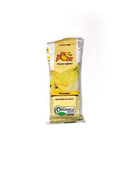 Bananinha Orgânica 28g – Do Pé ao Pote
