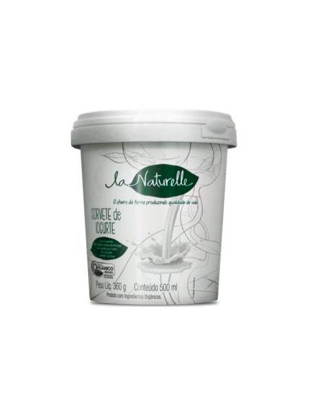 Sorvete de Iogurte Orgânico 490ml – La Naturelle