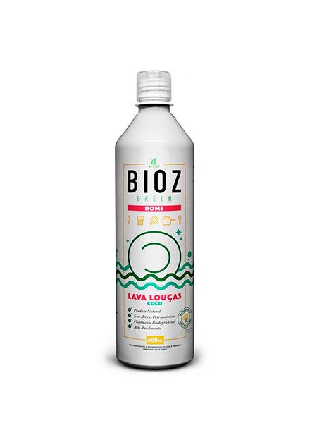 Lava Louça Ecológico Coco 600ml – Bioz Organic