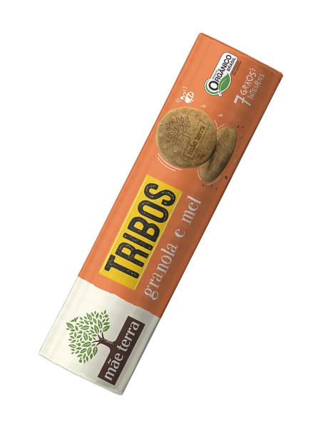 Biscoito Integral de Granola Orgânico 130g – Mãe Terra
