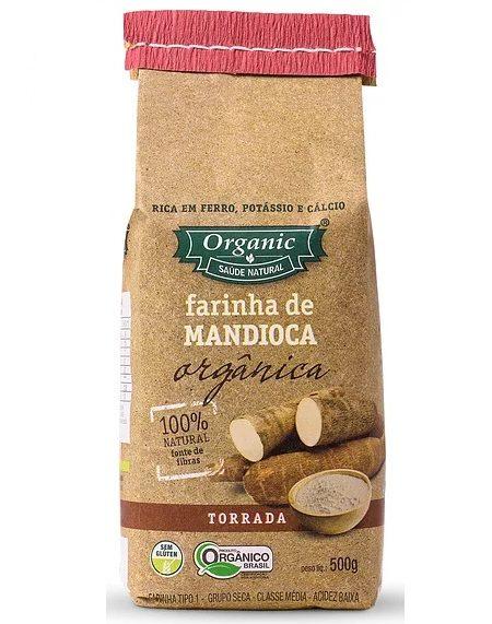 Farinha de Mandioca Torrada Orgânica 500g – Organic