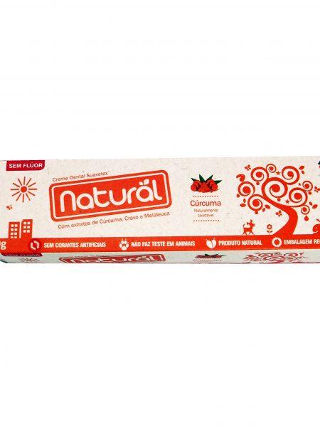 Creme Dental com Extratos de Cúrcuma, Cravo e Melaleuca 80g – Orgânico Natural